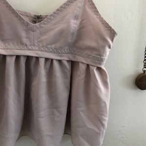 Tops - Cropped Babydoll Top